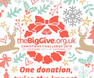 Big Give Christmas Challenge campaign 2018 - to raise funds to support leukaemia research