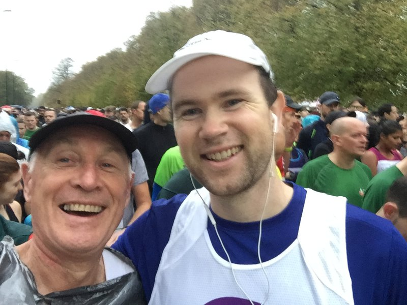 Finbar and Stuart - Royal Parks Half 2018