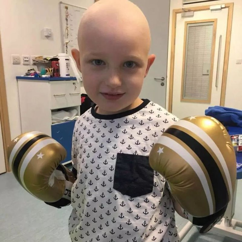Jenson Wright has beaten blood cancer for a second time thanks to a new stem cell transplant method