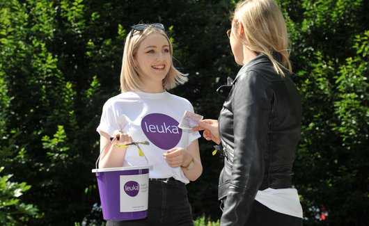 Leuka bucket collection - donate to leukaemia research