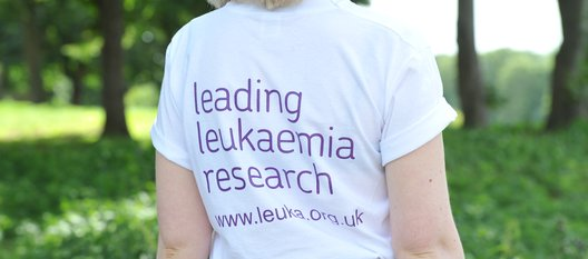 Leading Leukaemia research t-shirt - fundraise for Leuka and support leukaemia research