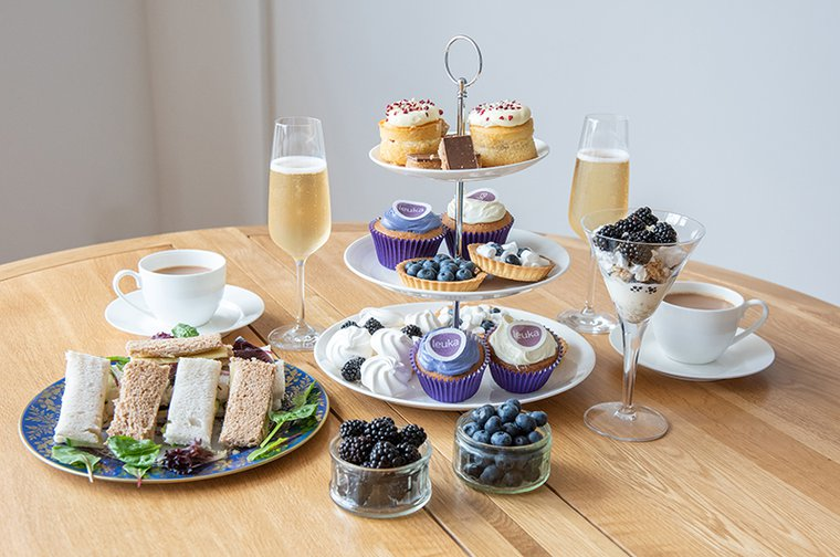 Leuka Loves Afternoon Tea - fundraising event for  leukaemia research