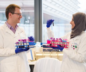 Barts hospital leukaemia researchers