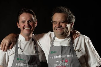 Mark Hix and Kevin Gratton