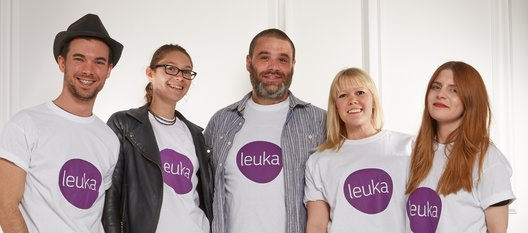 The Net a Porter team - make Leuka your charity of the year at work