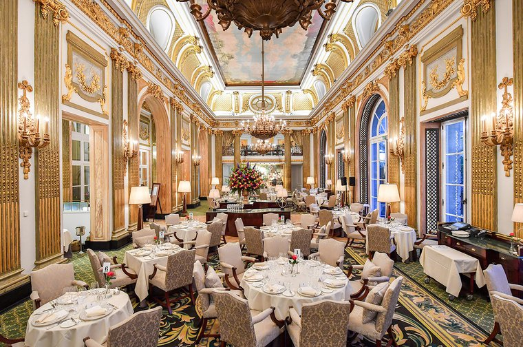 Duplicate bridge and dining at the Royal Automobile Club on Pall Mall - a fundraising evening for leukaemia research