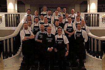 Who's Cooking Dinner 2018 chefs - fundraising event for leukaemia research