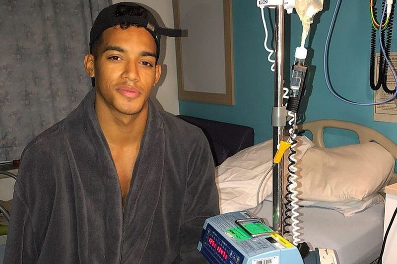 Young footballer now in partial remission from his leukaemia following blood cancer treatment