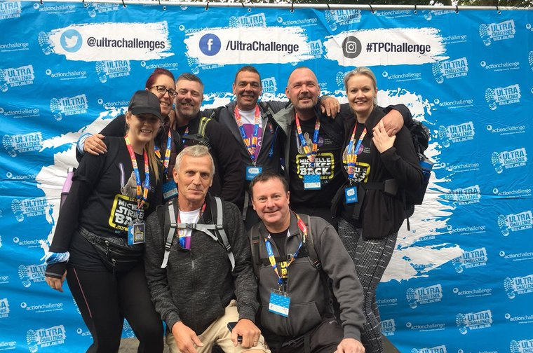 Thames path challenge team 2018